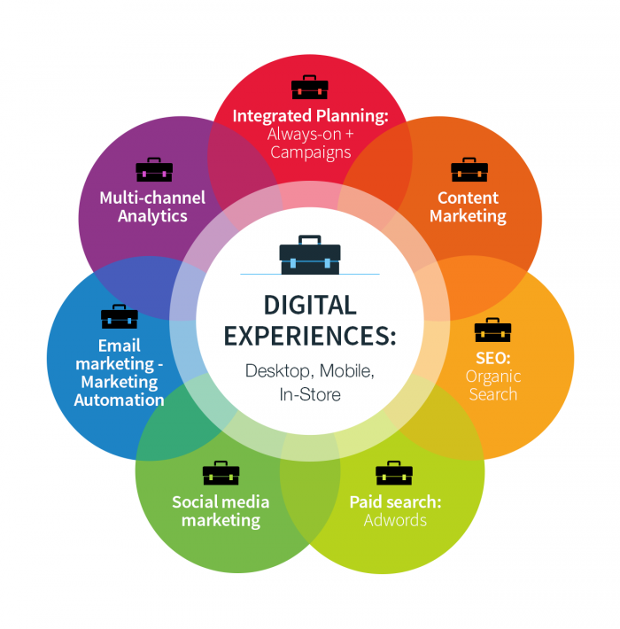 Content marketing experience