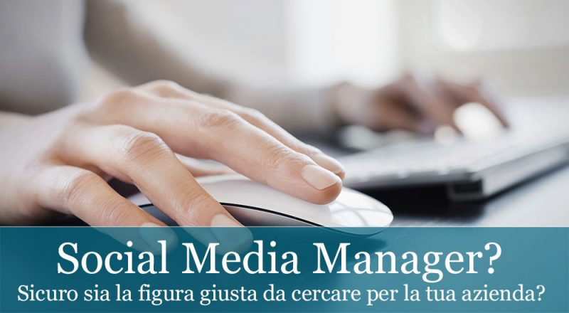 social media manager per aziende