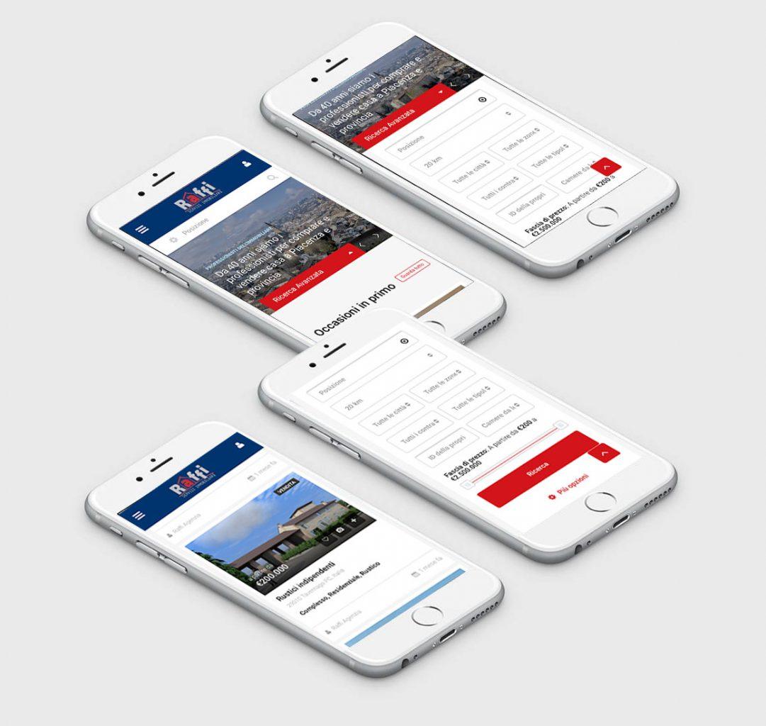 sito web agenzia immobiliare raffi
