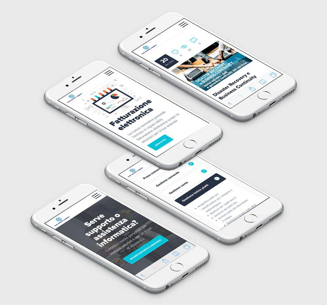 sito web smartphone